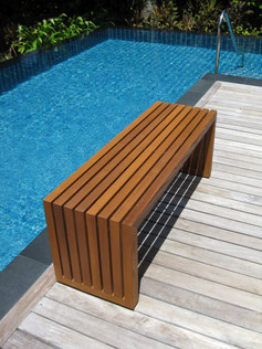 Acqua Pool Bench