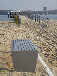 Forte Steel Bench