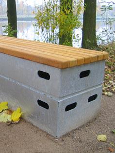 GOLD Vaulting-Box Bench