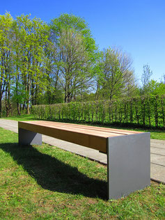 Esplanade H Profile Bench