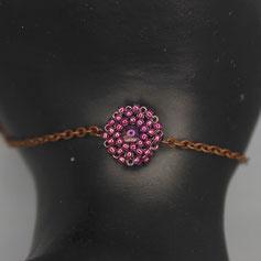Armband lila Miyuki