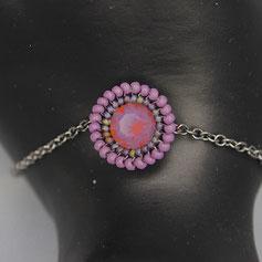 Armband violet Swarovskichaton