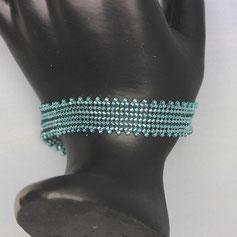 Armband türkis Delica