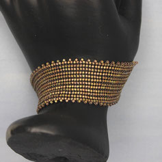 Armband rosa-braun Delica