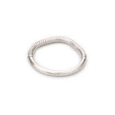 Ring, Sterling Silber, minimalistisches Design, Schmuckdesign, Schmuckdesignerin aus Düsseldorf, Maren Düsel Schmuckdesign, handgefertigt