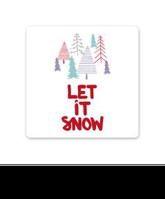 "Keramikuntersetzer ""let it snow"" kaufen"