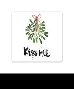 "Keramikuntersetzer ""KISS ME"" kaufen"