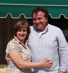 Maria und Matteo sind unsere Gastgeber