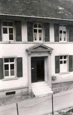 Das alte Schulhaus in der Brunnenstraße