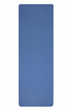 Yogamatte TPE navy blau