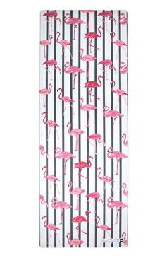 Yoga Reisematte / Yogatuch Flamingos