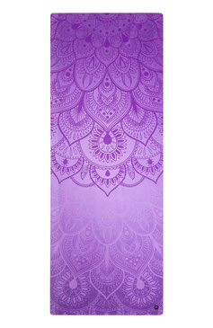 Yogamatte Naturkautschuk Mandala violett