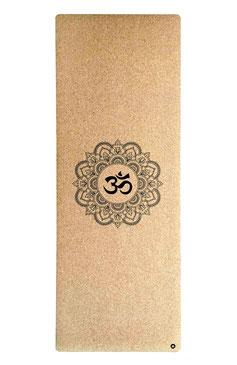 Yogamatte Kork Mandala OM