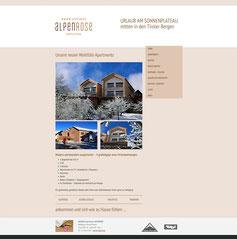 Apartment Ferienwohnungen Alpenrose Fiss