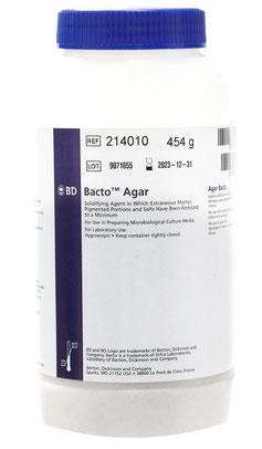 214010 BD Difco™ Agar Bacteriologico/Bacto Agar, 454 g