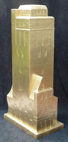 Wasserturm 160cm Delmenhorst  Skulptur-Kunstwerk von künstlerstein.de Mathias Rüffert