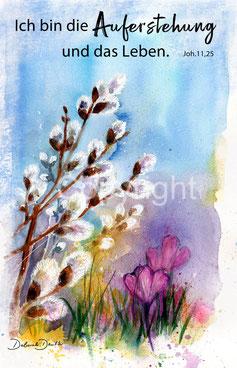 Auferstehung, Leben, Weidenkätzchen