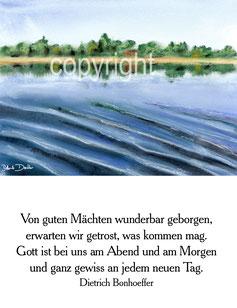 Donau von guten Mächten