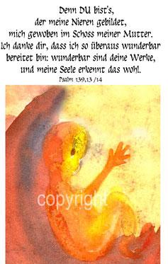 Geburt Psalm 139