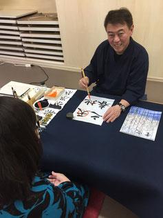 札幌市中央区大人の書道教室一五書道教室
