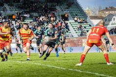 Photo de sport au stade de Sapiac à Montauban
