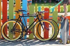 Fahrradfahren in Templin