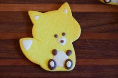 どうぶつクッキー,可愛いお菓子,きつねのお菓子,贈り物,
