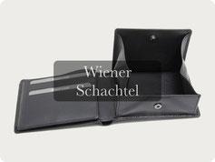 Portemonnaie Wiener Schachtel