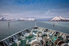 Hurtigruten Schiff Postschiff Norwegen