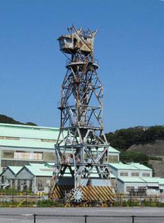 横須賀市・浦賀ドックの古い大型クレーン