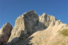 Jalovec, Julische Alpen, Gipfel, Klettersteig