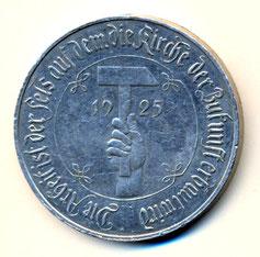 Bild: Wünschendorf Medallie Inflation 1923