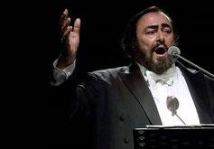 balance Luciano Pavarotti