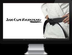 Page d'accueil de judoclubvalentigney.com