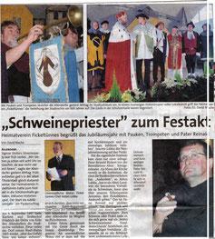 """""""Schweinpriester"""" zum Festakt - 02.01.2007"""