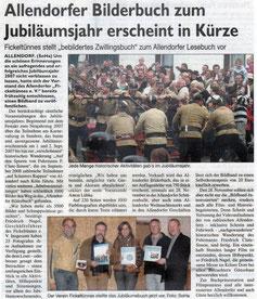 Allendorfer Bilderbuch zum Jubiläumsjahr erscheint In Kürze - 2007