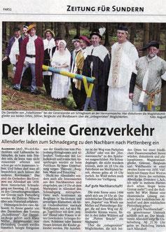 Der kleine Grenzverkehr - 11.08.2005