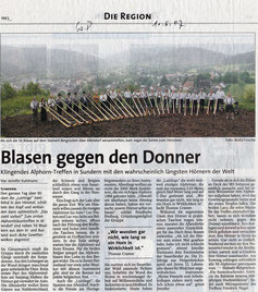 Blasen gegen den Donner - 11. 08.2007