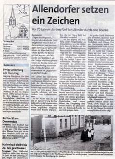 Allendorfer setzen ein Zeichen - 26.06.2010