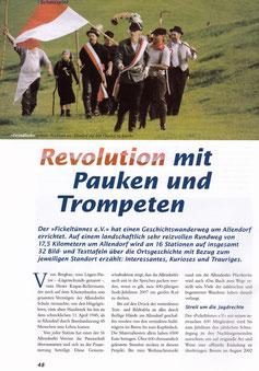 Revolution mit Pauken und Trompeten - 2002/2003
