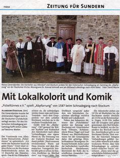 Mit Lokalkolorit und Komik - 27.08.2004