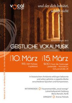 Konzertplakat - Design: S. Hauthaler