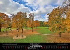 Herbst im Rudolstädter Heinepark