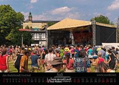 Das Rudolstadt Festival früher das Tff in Rudolstadt