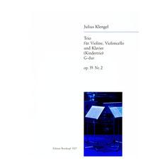 Kindertrio in G-dur, Op. 35, Nr. 2 von Julius Klengel für Violine, Violoncello und Klavier EB3327