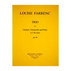 Trio für Klarinette, Violoncello und Klavier in Es-Dur von Louise Farrenc MR2250