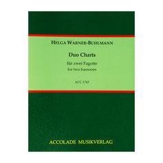 Duo Charts für zwei Fagotte von Helga Warner-Buhlmann ACC1765