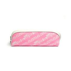 Federmäppchen Notenzeichen pink
