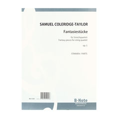 Fantasie-Stücke op.5 für Streichquartett von Samuel Coleridge-Taylor BN15781
