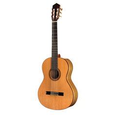 Gitarre Konzertgitarre Black Limba